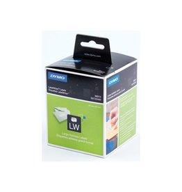 Dymo Dymo etiketten LabelWriter ft 89 x 36 mm, wit, 520 etiketten