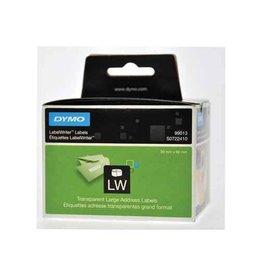 Dymo Dymo etiketten LabelWriter 89x36mm, transp., 260 etiketten