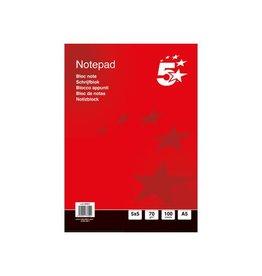5 Star 5 Star business notitieboek, ft A5+, 200 bladzijden