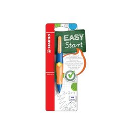 Stabilo Stabilo vulpotlood Easy Ergo marine/oranje linkshandigen 1st
