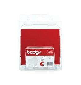 Badgy Badgy 100 blanco, dunne kaarten van 0,5mm