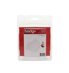 Badgy Badgy 100 blanco, dikke kaarten van 0,76mm