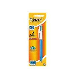 Bic Bic balpen 4 Colours medium, op blister