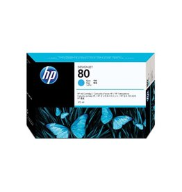 HP HP 80 (C4872A) ink cyan 2200 pages (original)