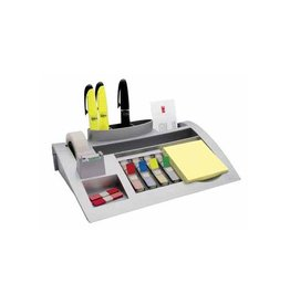 Post-it Post-it Index desk organizer, zilver, voor 26 x16,5 x5,5 cm
