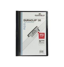 Durable Durable klemmap Duraclip Original 30 zwart