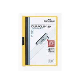 Durable Durable klemmap Duraclip Original 30 geel
