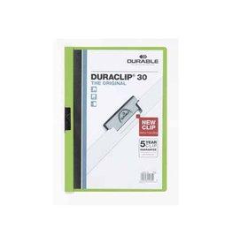 Durable Durable klemmap Duraclip Original 30 groen