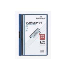 Durable Durable klemmap Duraclip Original 30 donkerblauw