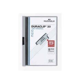 Durable Durable klemmap Duraclip Original 30 grijs