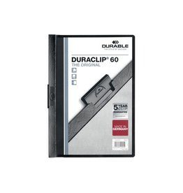 Durable Durable Klemmap Duraclip Original 60 zwart
