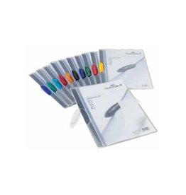 Durable Durable klemmap Swingclip assorti transp.e kleuren [25st]