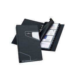 Durable Durable Visitekaartenmap Visifix Pro 145x255 mm, voor 200