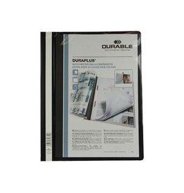 Durable Durable personaliseerbare snelhechtmap Duraplus zwart