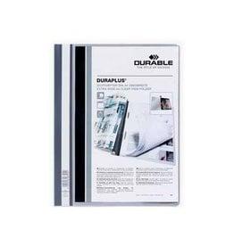 Durable Durable personaliseerbare snelhechtmap Duraplus grijs