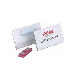 Durable Durable badges met magneet ft 40 x 75 mm [25st]