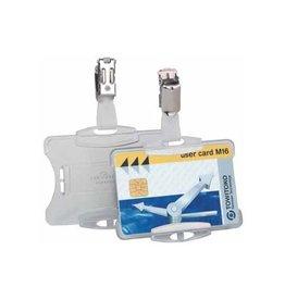Durable Durable badgehouder + clip [25st]