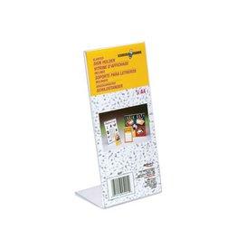 Deflecto Deflecto Folderhouder L-voet ft 1/3 A4