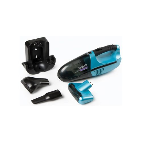 Domo Domo kruimeldief met oplaadbare batterij, 14,4 V, blauw