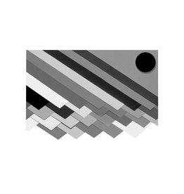 Folia Folia fotokarton zwart, pak met 10 vel