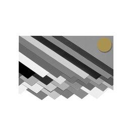 Folia Folia fotokarton goud mat, pak met 10 vel