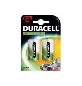 Duracell Duracell oplaadbare batterijen C, blister van 2 stuks