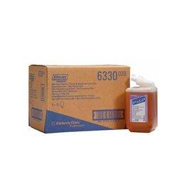 Kimberly Clark Kleenex navulling voor zeepdispenser Aquarius, amber, 1l