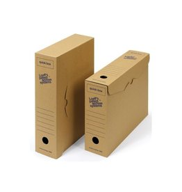 Loeffs Loeff's achiefdoos Quick box 335x240x80mm               50st