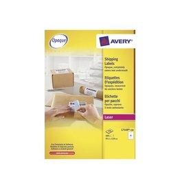 Avery Avery L7169 Verzendetik. Laser wit 100vel. 4 /vel 99,1x139mm