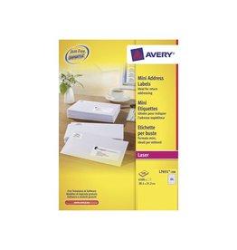 Avery Avery witte l.etik. QP 100bl 381x212mm 6500st 65/bl [2st]