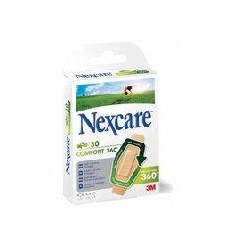 3M 3M pleister Nexcare Comfort 360° 3 formaten,blister van 30st