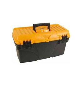 Perel Perel gereedschapskoffer 43,2x25x23,8 leeg geleverd zw/geel