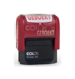 Colop Colop formulestempel Printer tekst: GEBOEKT