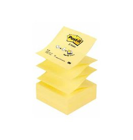 Post-it Post-it Z-Notes navullingen, geel, blok van 100 vel