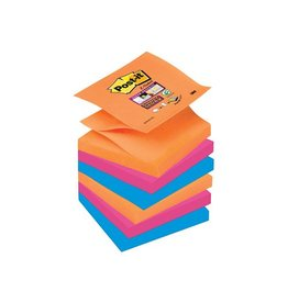 Post-it Post-it Super Sticky Z-Notes Bangkok 76x76 div.kl. 90vel 6bl