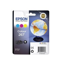 Epson Epson 267 (C13T26704010) ink c/m/y 200 pages (original)