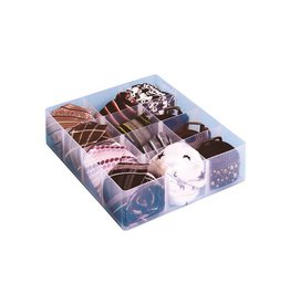 Really Useful Box Really Useful Box, office divider met 12 vakjes, transparant