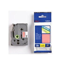 Brother Brother TZe tape voor P-Touch 12 mm, wit op rood