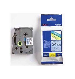 Brother Brother TZe tape voor P-Touch 24 mm, zwart op blauw