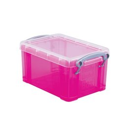 Really Useful Box Really Useful Box 0,7 liter, transparant helroze