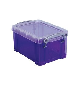 Really Useful Box Really Useful Box 0,7 liter, transparant paars
