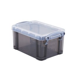 Really Useful Box Really Useful Box 0,7 liter, transparant smoke