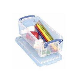 Really Useful Box Really Useful Box pennenbakje 0,9 liter, transparant