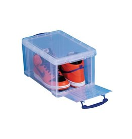 Really Useful Box Really Useful Box 14l opening aan de voorkant, transparant