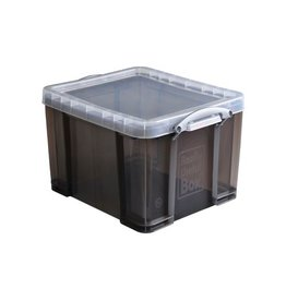 Really Useful Box Really Useful Box 35 liter, transparant gerookt [6st]