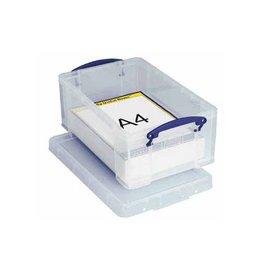 Really Useful Box Really Useful Box 9 liter, transparant