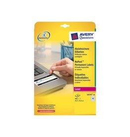 Avery Avery Etiketten NO-PEEL 45,7x25,4mm(bxh),doos 800 etiketten
