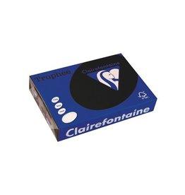 Clairefontaine Papier Clairefontaine Trophée Intens A4, 160 g, 250 vel, zwart