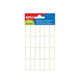 Apli Apli witte etiketten ft 12 x 30 mm (b x h), 144 stuks
