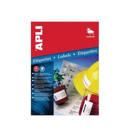 Apli Apli Weerbestendige etik. 64,6x33,8mm 480st 24/blad 20bl